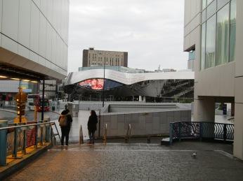 New Street Station - very high tech